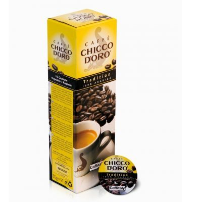 Caffitaly Capsule Caffè Chicco D'Oro Tradition 100% Arabica