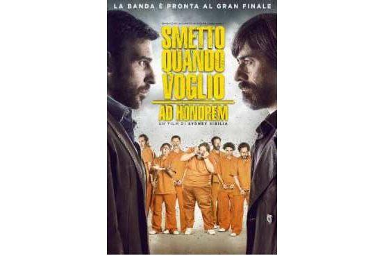 Ogni saga ha una fine. Dal 15 Marzo sarà disponibile Smetto Quando Voglio – Ad Honorem, il nuovo film di Sidney Sibilia.