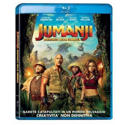 Jumanji: Benvenuti nella Giungla - Blu-ray Disc