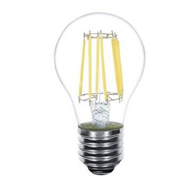 Lampadina a LED dimmerabile a filamento bianco caldo consumo 6W resa 60W