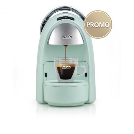 Macchina da Caffè Ambra S18 Verde Lattementa Caffitaly