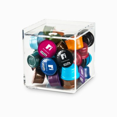 Portacapsule Cubo per 33 Capsule - Caffitaly