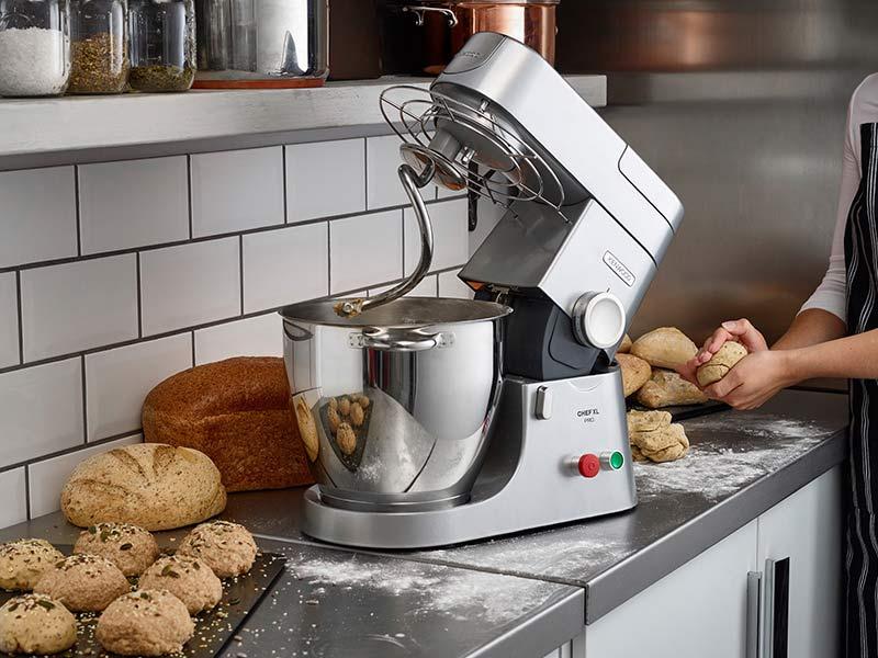 Come preparare pane e pizza con una Planetaria Kenwood Chef XLPro