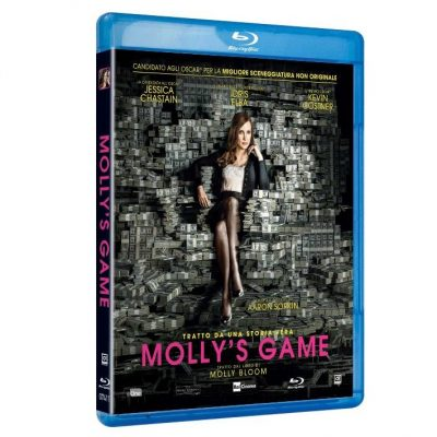 Molly's Game - Blu-ray Disc Rental