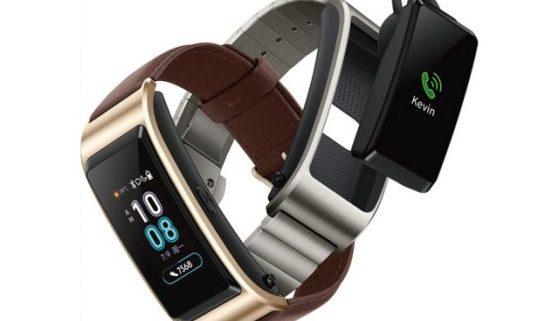 Display a colori per il nuovo Huawei Talkband B5, il fitness tracker che diventa cuffia Bluetooth