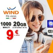 Wind Smart Limited Edition a 9 euro ed attivazione gratuita