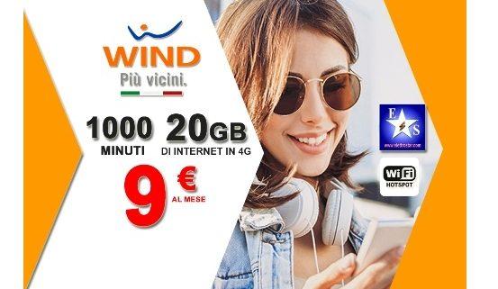 Wind Smart Limited Edition a 9 euro ed attivazione gratuita