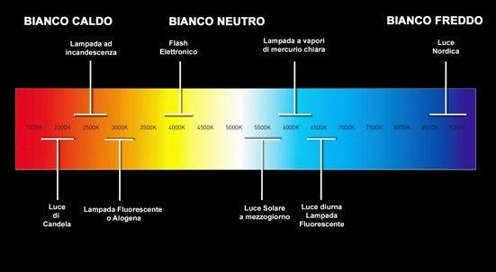 Luce Fredda e Luce Calda: guida alle tonalità del colore