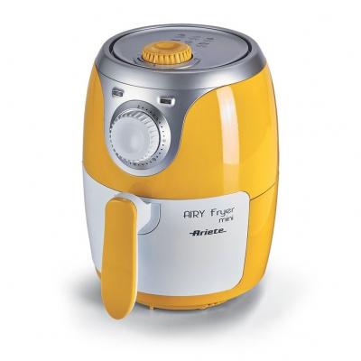 Ariete Airy fryer mini 4615 Singolo 2L Indipendente 1000W Argento, Giallo