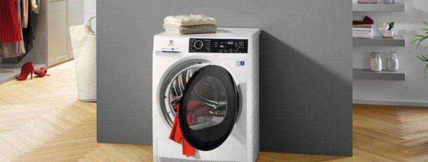 Da Electrolux la nuova asciugatrice PerfectCare 800 con SteamCare System
