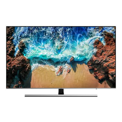 "Smart TV LED Samsung UE55NU8000T 55"" 4K Ultra HD Wi-Fi Nero, Argento"