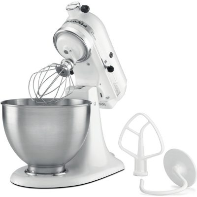 KITCHENAID Classic 275W 4.3L Bianco robot da cucina 5K45SSEWH 200701
