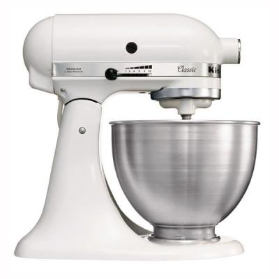 KITCHENAID Classic 275W 4.3L Bianco robot da cucina 5K45SSEWH