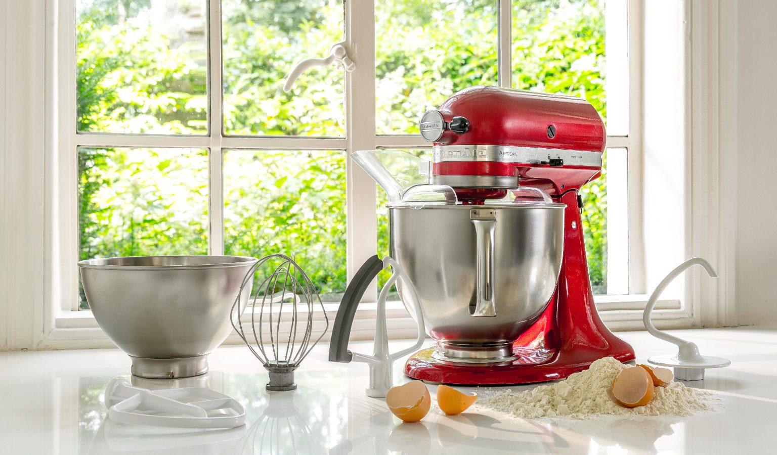 KitchenAid Artisan 300W 4.8L Bianco Meringa robot da cucina 5KSM175PSELT