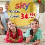 Il 21, 22 e 23 Dicembre torna lo Sky Black Weekend!