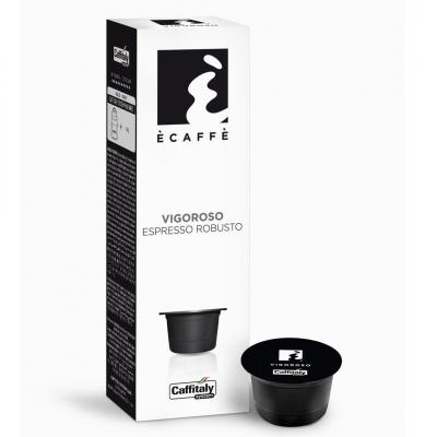 Caffitaly Capsule Ècaffè - gusto Vigoroso espresso forte