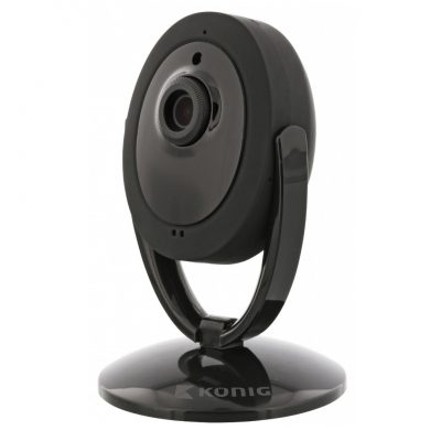Konig SAS-IPCAM200B Telecamera di Sorveglianza Wireless IP Security Camera per interni