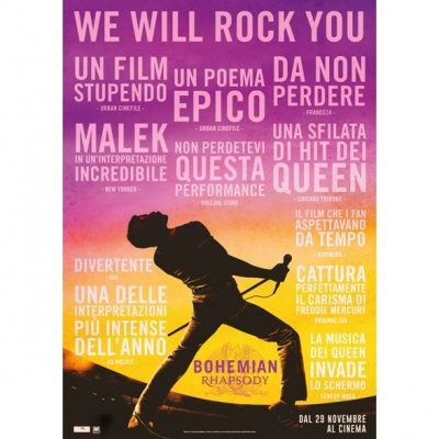 Bohemian Rhapsody DVD Rental Warner Bros 27032019