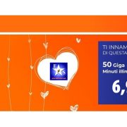 Wind Smart Loves You! Minuti illimitati e 50GB a 6,99 euro!