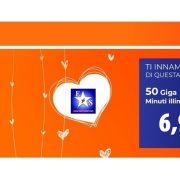 Wind Smart Loves You! Minuti illimitati e 50GB a 6,99 euro!