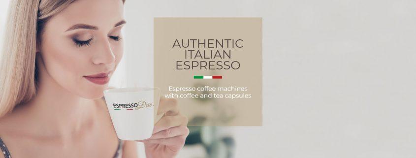 Espresso Due - L'autentico espresso italiano!
