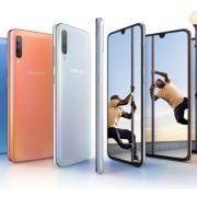 Samsung Galaxy A70 con batteria da 4500 mAh e display Infinity-U