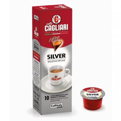 Caffitaly 10 Capsule Caffè Cagliari Silver - Selezione Speciale