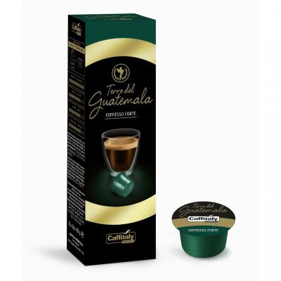 Caffitaly 10 Capsule Caffè Premium Terre Del Guatemala