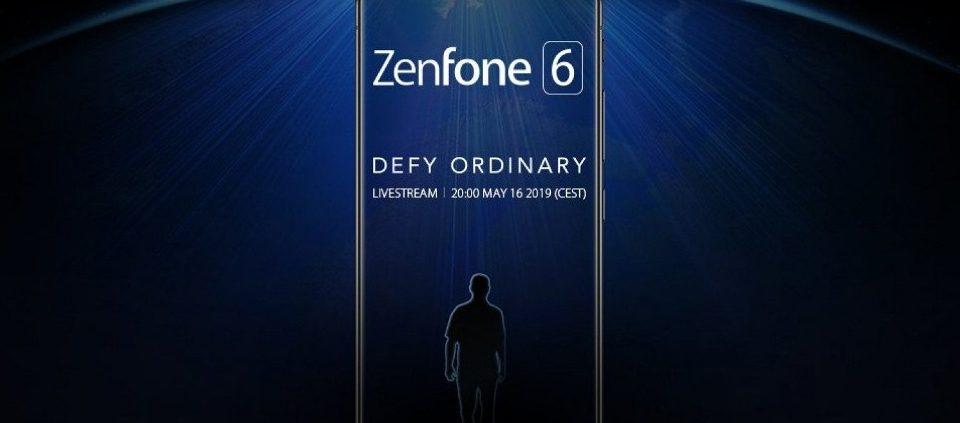 Asus Zenfone 6 sarà presentato ufficialmente il 16 Maggio a Valencia!