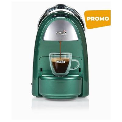 Macchina da Caffè Ambra S18 Verde Smeraldo Caffitaly