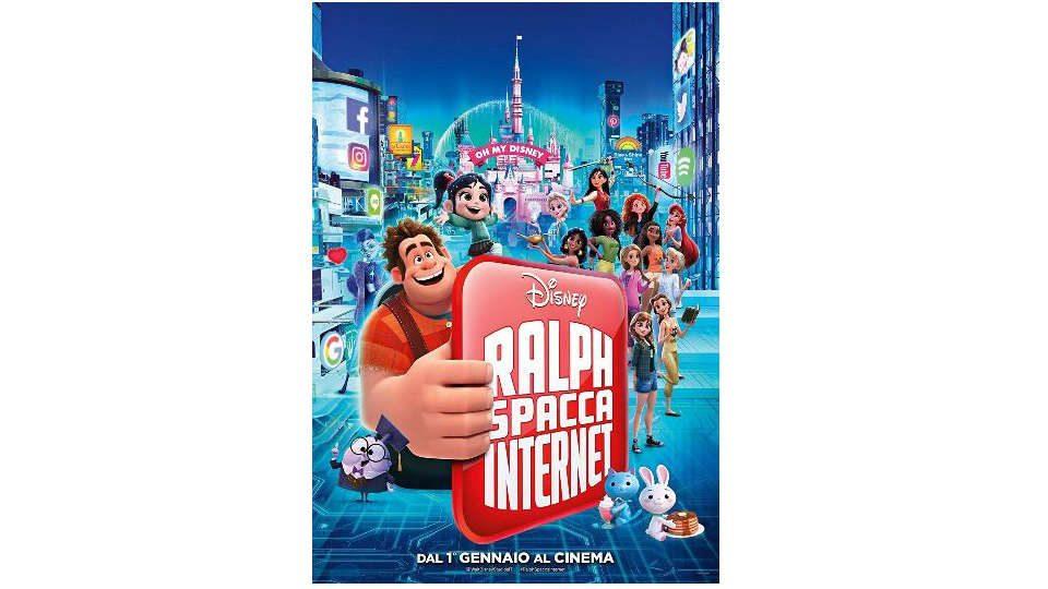 ralph spacca internet dvd  Ralph Spacca Internet torna finalmente in DVD e Blu-ray Disc!