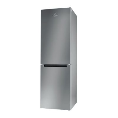 Indesit LR8 S1 F S Frigorifero con congelatore 338L A+ Argento
