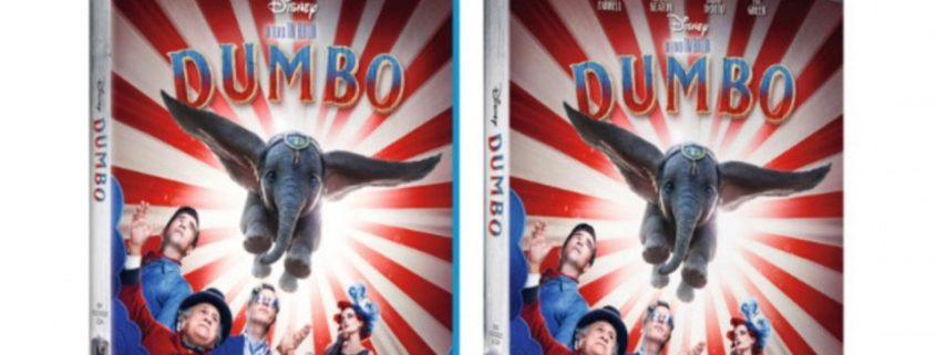 Dal 16 Luglio Dumbo di Tim Burton torna in home video