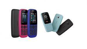 Nokia 105 e Nokia 220 4G: arriva la nuova generazione dei telefonini economici