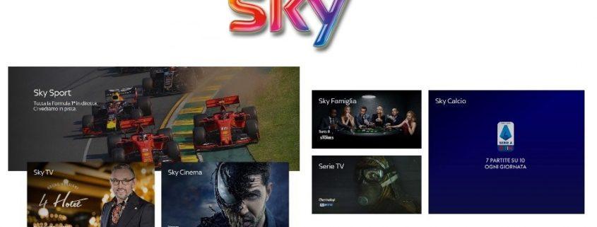 Scopri le nuove offerte Sky via satellite!