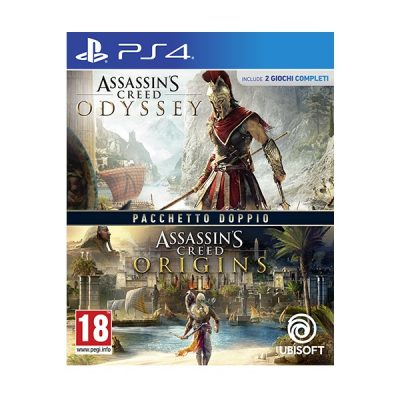 Assassin's Creed Odissey + Assassin's Creed Origins - PS4
