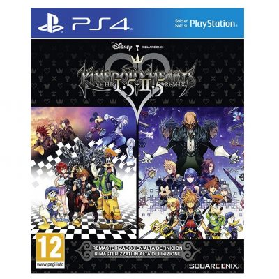 Kingdom Hearts 1.5 HD & 2.5 HD - PS4
