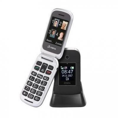 Olympia Janus Nero Telefono GSM con tasti grandi