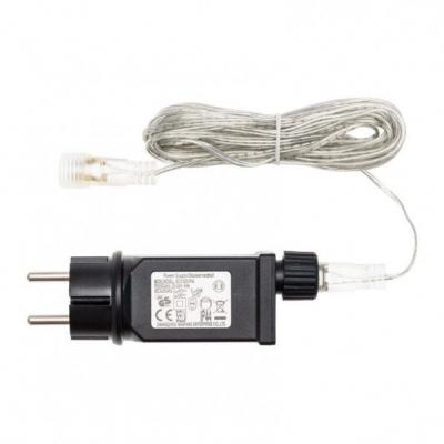 55650 Trasformatore 24 Watt, 31 Volt, Cavo Trasparente