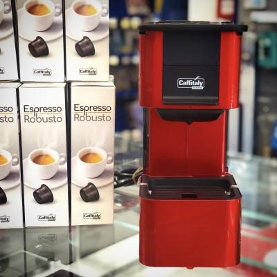 Macchina da Caffè IRIS S27 ROSSO/NERO Caffitaly Caffitaly + 120 capsule Caffè Robusto