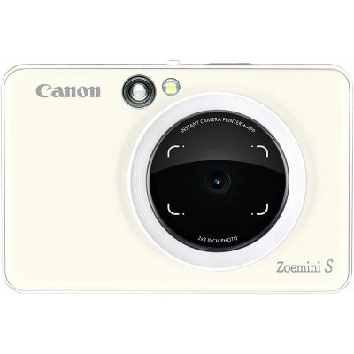 Canon Zoemini S Fotocamera Istantanea, Bianco Perla